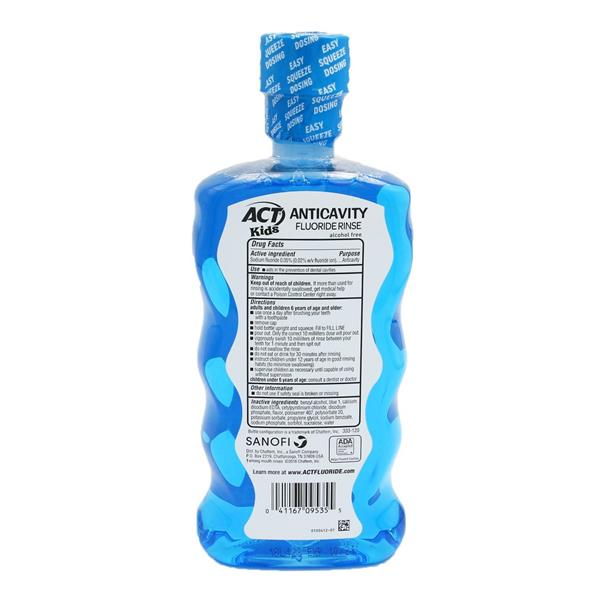 ACT Kids Pineapple Punch Anticavity Fluoride Rinse